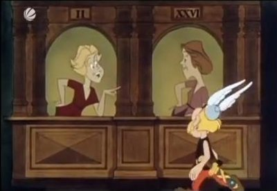 asterix erobert rom das haus das verr te macht szenen. Black Bedroom Furniture Sets. Home Design Ideas